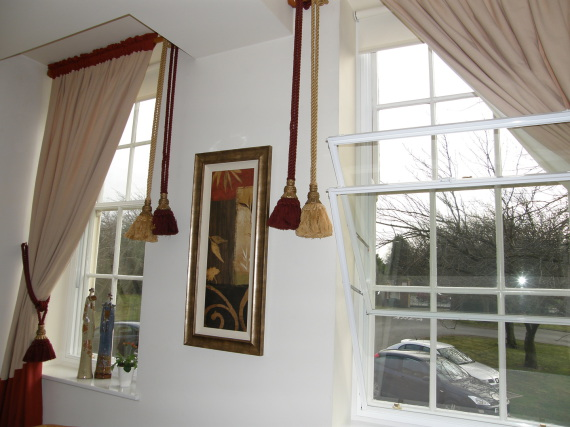 Fit secondary glazing over sash windows to keep out draughts
