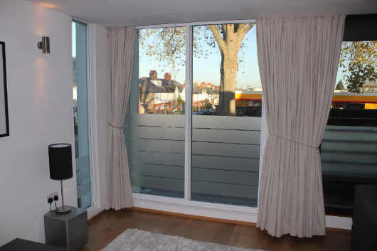 Noise reduction using secondary windows can be as much by 75%