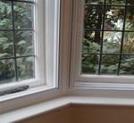 discreet secondary bay window detail
