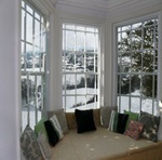 Secondary glazing keeps the cold out and the heat in
