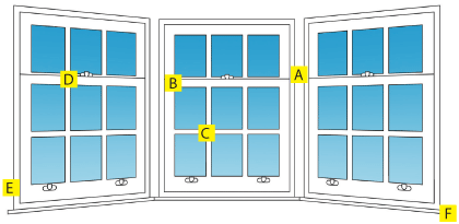 Secondary glazed windows for better thermal performance
