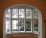 Secondary double glazed bay window